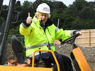 "Boris Johnson is promising to ""BUILD BUILD BUILD"" by injecting  billions of pounds into public projects to ease the UK"